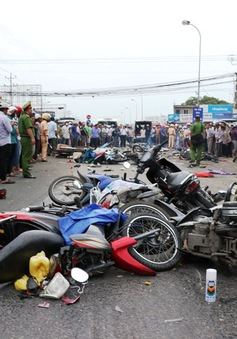 Khó xảy ra hiện tượng mất phanh với xe container