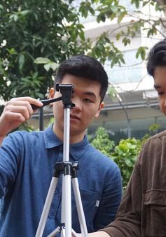 Học sinh hào hứng thực hiện phim ngắn phòng chống tác hại thuốc lá