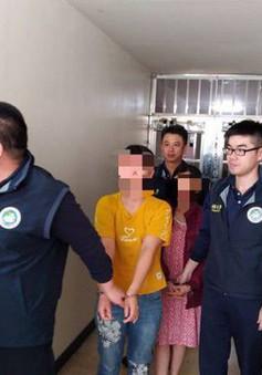 Bắt giữ 7 người liên quan đến vụ 152 du khách Việt bỏ trốn ở Đài Loan