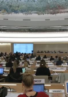 Việt Nam báo cáo về quyền con người tại Hội đồng Nhân quyền Liên Hợp Quốc