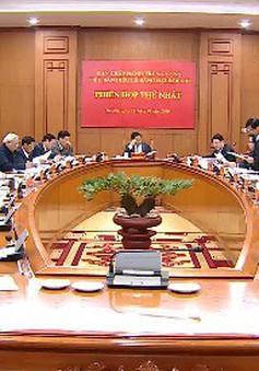 Tiểu ban Điều lệ Đảng họp phiên lần thứ nhất