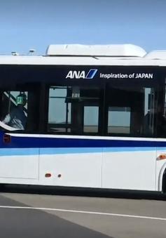 Thử nghiệm xe bus tự lái chở khách trong sân bay