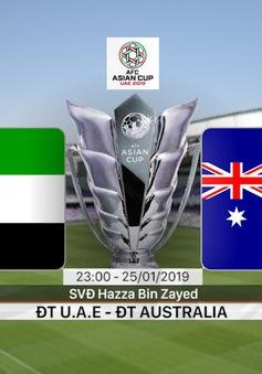 VIDEO: Highlights ĐT U.A.E 1-0 ĐT Australia (Tứ kết Asian Cup 2019)