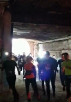 Kỳ thú cuộc đua trong hầm rượu lớn nhất thế giới