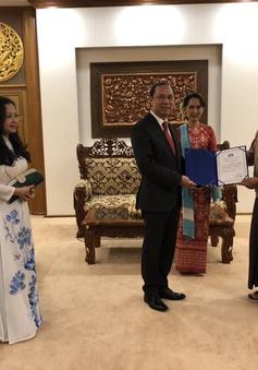 Chính phủ Việt Nam hỗ trợ Chính phủ Myanmar 100.000 USD