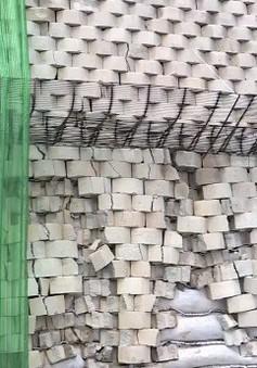 Khánh Hòa: Sập tường chắn của dự án khu nghỉ dưỡng, gần 100 người phải sơ tán