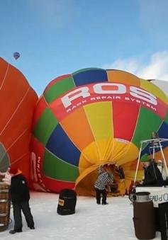 Đặc sắc lễ hội khinh khí cầu tại Chateau-d'Oex, Thụy Sỹ