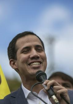 Venezuela cấm xuất cảnh với ông Juan Guaido