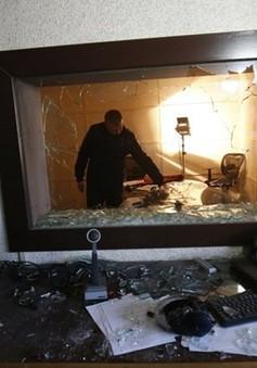 Văn phòng Đài truyền hình Palestine tại Gaza bị tấn công