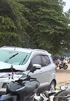 Lái xe gây tai nạn liên hoàn ở Hà Đông ra trình diện