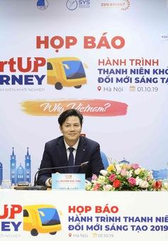 Startup Journey 2019 – Hành trình thanh niên khởi nghiệp đổi mới sáng tạo trong ngành Du lịch