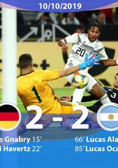ĐT Đức hòa đáng tiếc trước ĐT Argentina