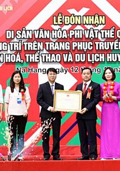 Công nhận Nghệ thuật trang trí trên trang phục truyền thống của người Dao đỏ là Di sản văn hóa phi vật thể quốc gia
