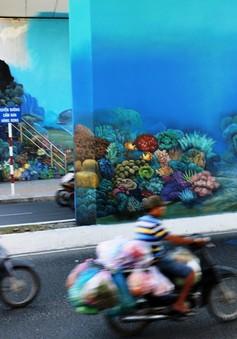 TP Nha Trang thay đổi diện mạo qua những bức tranh tường