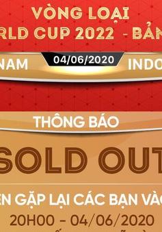 Toàn bộ vé online 3 trận sân nhà của ĐT Việt Nam đã được bán hết