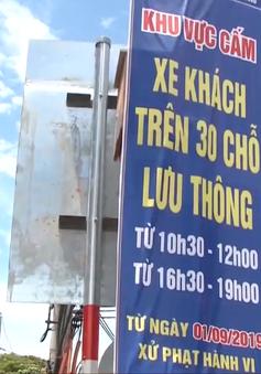 Đà Nẵng gia tăng vi phạm xe 30 chỗ vào thành phố giờ cấm