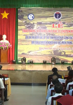 Đưa bác sĩ trẻ tình nguyện về 6 tỉnh miền Trung, Tây Nguyên