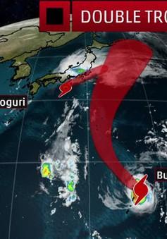 Nhật Bản tiếp tục đối phó với 2 cơn bão mới