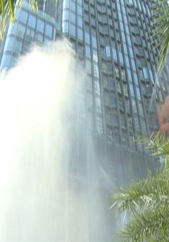 Diễn tập phòng cháy chữa cháy tại Landmark 81