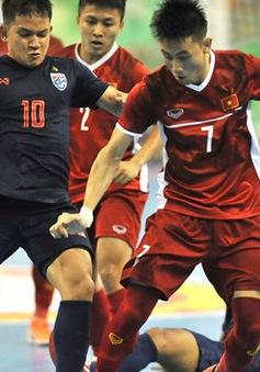 Thua Thái Lan, ĐT futsal Việt Nam tranh hạng Ba ở Giải futsal Đông Nam Á 2019