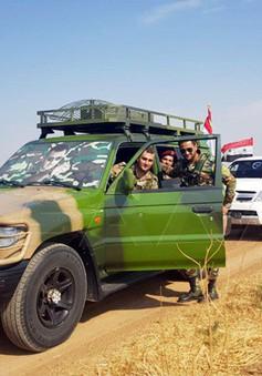 Tăng cường quân đội Syria gần biên giới Thổ Nhĩ Kỳ