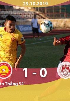 CLB Thanh Hoá 1-0 CLB Phố Hiến: Thắng kịch tính, CLB Thanh Hoá trụ hạng V.League thành công!