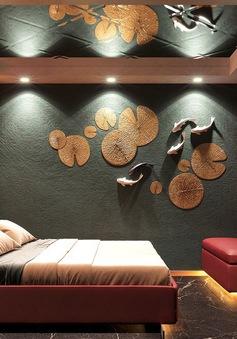 Trang trí phòng ngủ màu đỏ dành cho người năng động