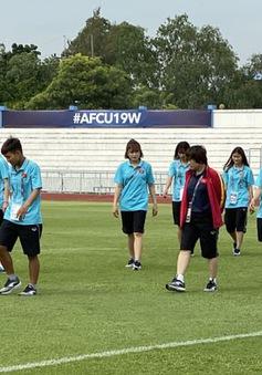 ĐT U19 nữ Việt Nam thoải mái trước trận gặp CHDCND Triều Tiên