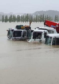 Bão Mitag gây ngập lụt tại Hàn Quốc, ít nhất 9 người thiệt mạng