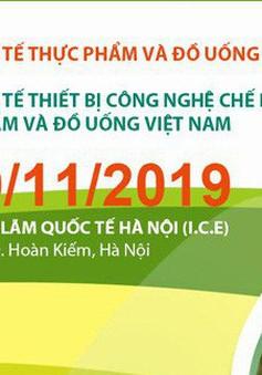 Triển lãm quốc tế thực phẩm và đồ uống Việt Nam khai mạc vào 6/11