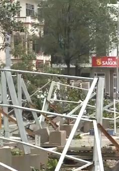 Bình Định khắc phục thiệt hại sau bão