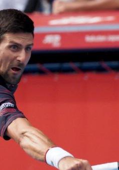 Giải quần vợt Nhật Bản 2019: Novak Djokovic dễ dàng vào bán kết