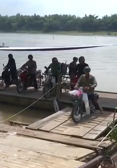 Quảng Nam siết chặt an toàn đường thủy các bến đò ngang
