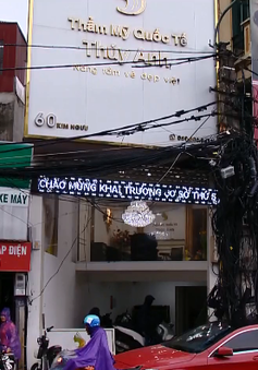 Hà Nội: Thẩm mỹ viện Thúy Anh vi phạm quảng cáo