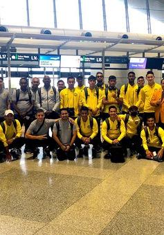ĐT Malaysia đã đến Hà Nội, chuẩn bị cho trận đấu gặp ĐT Việt Nam