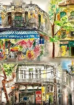 Hà Nội qua cảm nhận của họa sĩ trẻ Nhật Bản