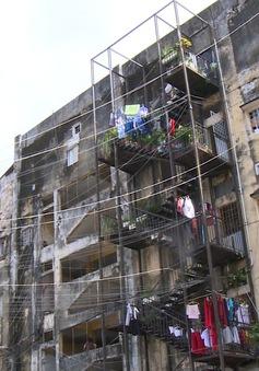 Người dân chung cư Trúc Giang chưa đồng tình phương án tạm cư