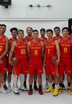 Đội tuyển bóng rổ Việt Nam công bố trang phục thi đấu tại SEA Games 30