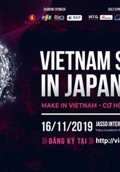 """Diễn đàn Trí thức Việt Nam tại Nhật Bản 2019 - Vietnam Summit in Japan 2019: """"Make in Vietnam - Cơ hội và thách thức"""""""