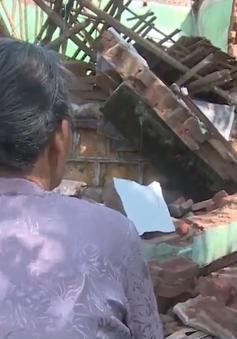 Mất nhà sau bão số 5, cuộc sống người dân Bình Định khó càng thêm khó