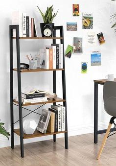 Mẫu kệ lưu trữ hình thang độc đáo cho căn phòng nhỏ