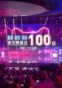 """Hơn 30 tỷ USD: Kỷ lục doanh thu mới của Alibaba trong ngày mua sắm """"độc thân"""""""