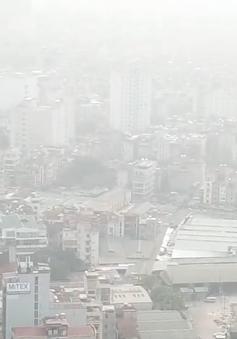 Chất lượng không khí Hà Nội lại chuyển biến rất xấu