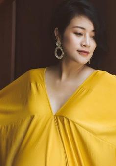"""MC Phí Linh thấy thật """"vĩ đại"""" khi mang bầu"""
