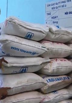 Phú Yên tạm giữ 4,5 tấn đường cát không rõ nguồn gốc