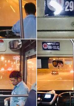 Hà Nội: Tạm đình chỉ công tác phụ xe bus hạch sách hành khách cao tuổi