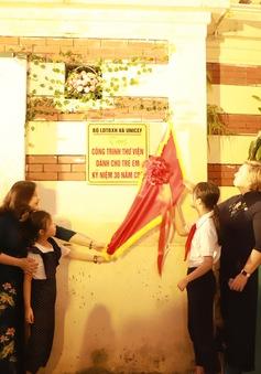 Khánh thành thư viện cho trẻ em tại Cung Thiếu nhi Hà Nội