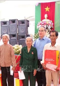 Bí thư Thành ủy TP.HCM dự Ngày hội đại đoàn kết toàn dân tộc tại Bến Tre