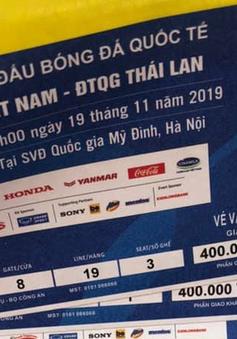 Phát hiện hơn 1.000 vé giả trận đấu giữa ĐT Việt Nam - ĐT Thái Lan