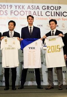 300 em nhỏ Việt trải nghiệm bóng đá Tây Ban Nha cùng HLV Quỹ Real Madrid